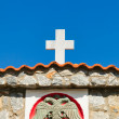 Detail from Chapel on a roadside in Greece - ストック写真