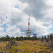 Brocken berg in Harz,Germany — Stock Photo