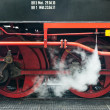 Steam engine locomotive in Harz, Germany — Stock Photo