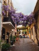 Narrow streets in Chania, Greece — Stock Photo