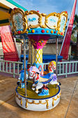 Carousel, outdoors — Stock Photo