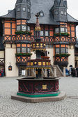 The well in Wernigerode in the district of Harz — Stockfoto