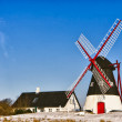 Stock Photo: Windmill on Mando, Ribe, Denmark