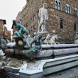 Fountain of Neptune, Florence, Italy — Stock Photo
