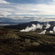 Geothermal hot spots, Iceland — Stock Photo