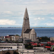 Reykjavik city view, Iceland — Stock Photo
