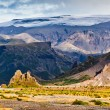 Thormork, Iceland, with the clacier Myrdalsjokull — Stock Photo