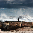 Surfer at Redgate Beach, Western Australia — Stock Photo