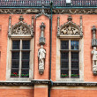 Detail of the City Hall, Wroclaw, Poland — Stock Photo