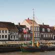 City of Ribe, Denmark - Stock Photo