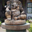 ganesha elephant god statue — Stock Photo