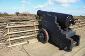 Antique cannon — Stock Photo
