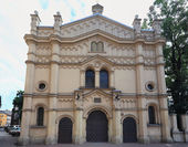 Krakow, Tempel synagogue — Stock Photo
