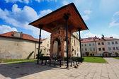 Resti della vecchia sinagoga, tarnow, polonia — Foto Stock