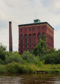 Wroclaw, polónia. antiga estação de bombeamento — Foto Stock