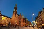 City Hall in Wroclaw (Poland) — Stock Photo