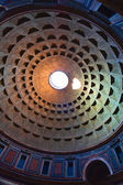 Pantheon, the dome — Stock Photo