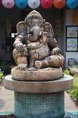 Ganesha Elephant God statue — Stock Photo