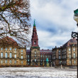 Danish Parliament Christiansborg, Copenhagen — Stock Photo