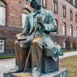 Monument  in Copenhagen for Hans Christian Andersen - Foto Stock