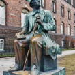 Monument  in Copenhagen for Hans Christian Andersen - 