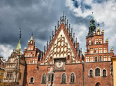The City Hall, Wroclaw, Poland — Stock Photo