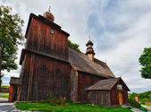 Wooden church in Rabka, Malopolska, Poland — Stock Photo