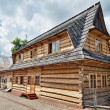 Stock Photo: Traditional House in High Tatrmountains, Poland