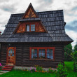 Traditional House in the High Tatra mountains, Poland - Stock Photo