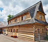 Traditional House in the High Tatra mountains, Poland — Stock Photo