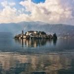 Постер, плакат: Isle of Orta San Giulio Orta lake Italy