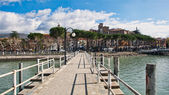 "Village of ""Passignano sul Trasimeno"" in Italy — Stock Photo"