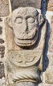 Medieval Danish church, detail — Stock Photo