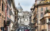 The Basilica di Santa Maria Maggiore — Stock Photo