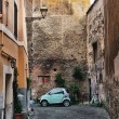 Street scene from Trastevere district of Rome, Italy — Stock Photo #9970806