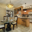 Kitchen with eating area — Stock Photo #8656329