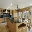 Stock Photo: Kitchen in luxury home