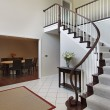 Foyer with curved staircase — Stok Fotoğraf #8657325