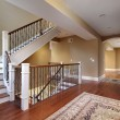 Foyer with cherry wood floors — Stock Photo #8657578