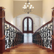 Stairway leading to foyer - Stockfoto