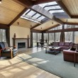 Family room with skylights - Photo