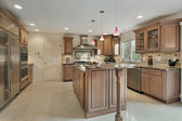 Kitchen in remodeled home — Stock Photo