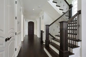 Foyer in new construction home — Photo