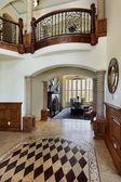 Foyer with floor design — Stock Photo