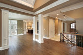 Foyer and dining room — Stock Photo