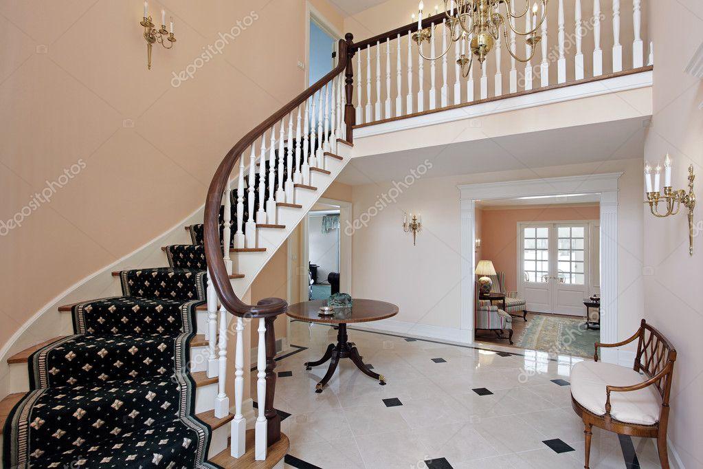 Foyer di color salmone — foto stock © lmphot #8657358