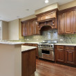 Kitchen in new townhouse — Stock Photo #8669688