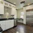 Kitchen in remodeled home — Stock Photo #8669883