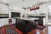 Kitchen in modern home — Stock Photo