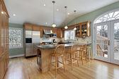 近代的な家のキッチン — ストック写真